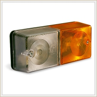 Front signalling lamps