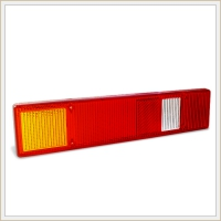 Plastic glass of back signalling lamp F-412