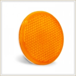 FP-311-A Retroreflector: orange, side